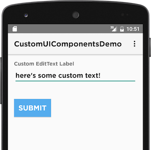 How to customize Android UI